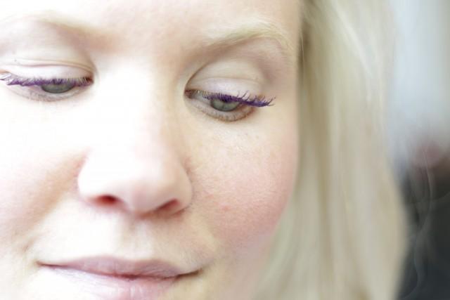 gekleurde mascara - femke steketee - sax and the pretty