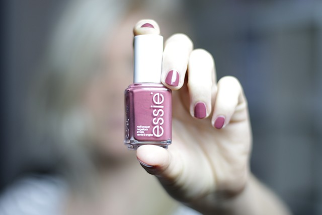 Essie Angora Cardi - sax and the pretty