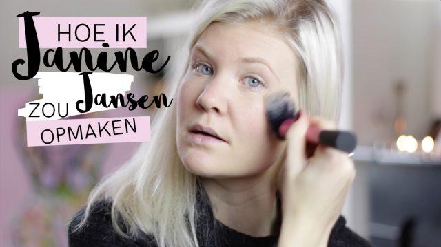 Janine Jansen opmaken