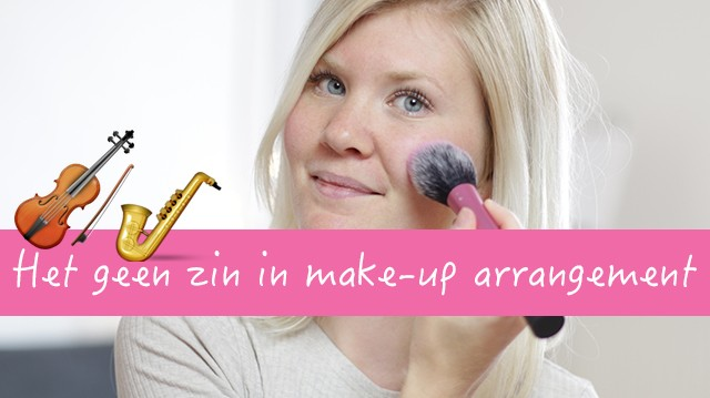 Het geen zin in make-up arrangement