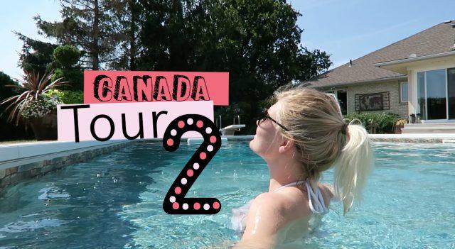 Vlog Canada tour